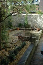 Gravel garden planting