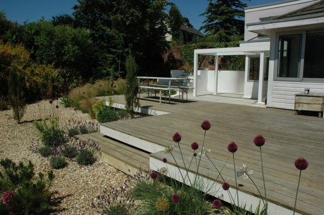 Terracing and planting