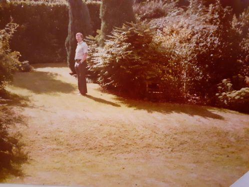 Wilmington garden in 1983